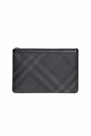 Checked clutch od Burberry