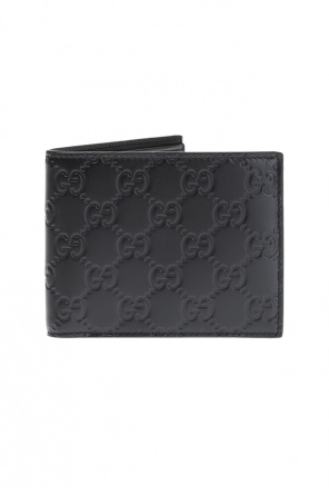 'guccissima' leather wallet od Gucci