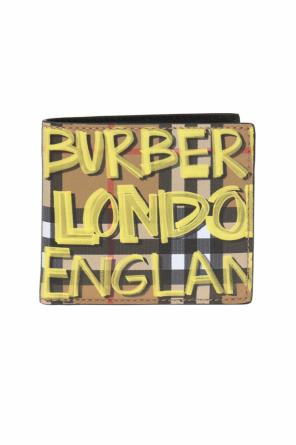 Checked wallet with logo od Burberry