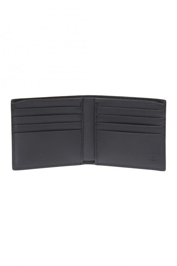 cd8a9119a893 Blooms' printed wallet Gucci - Vitkac shop online