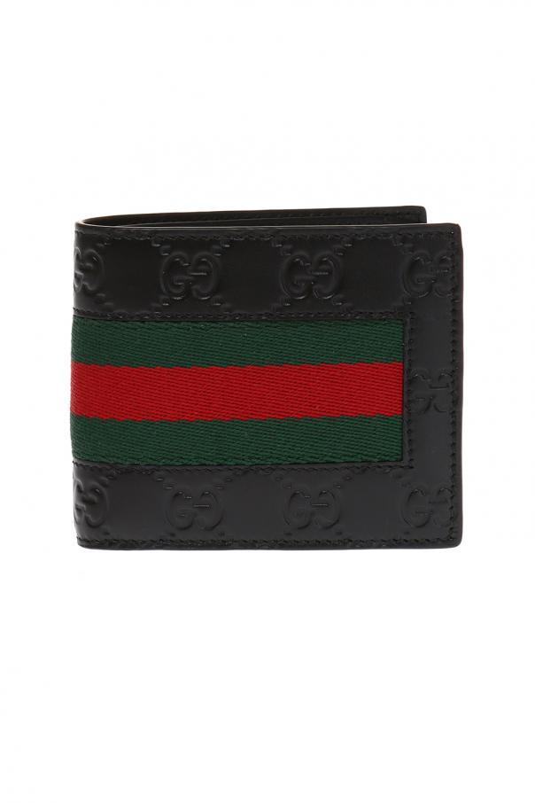 Gucci 'Web' bi-fold wallet