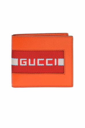 Logo-patched wallet od Gucci
