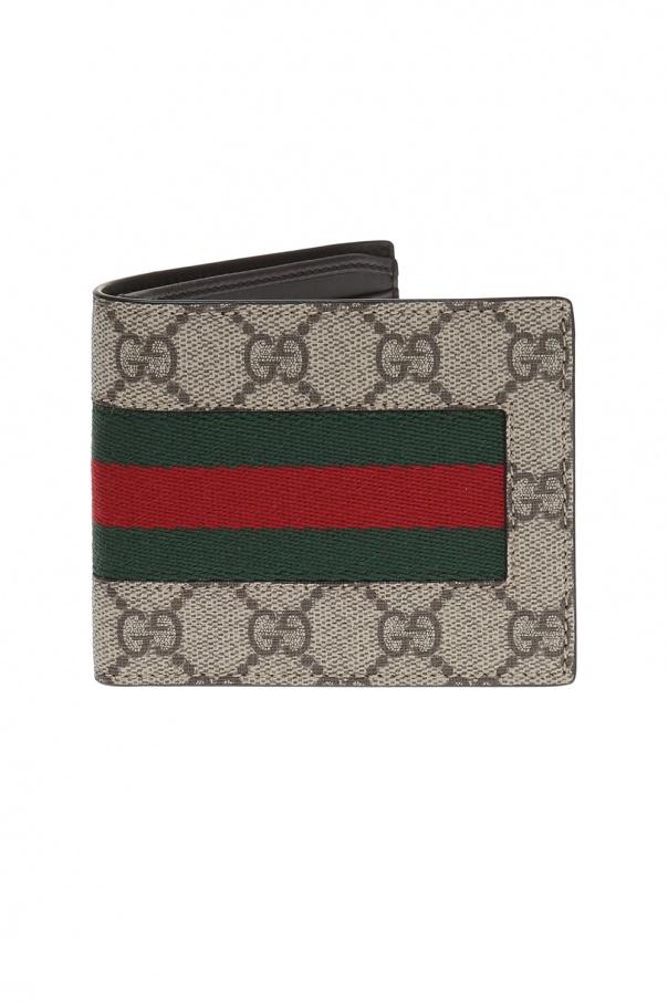 f6ee221b8d71e Portfel z płótna 'GG Supreme' Gucci - sklep internetowy Vitkac