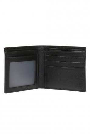'web' leather wallet od Gucci
