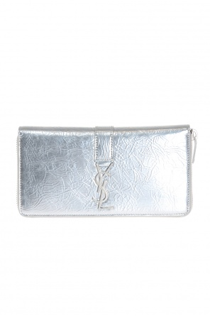 Metal logo wallet od Saint Laurent