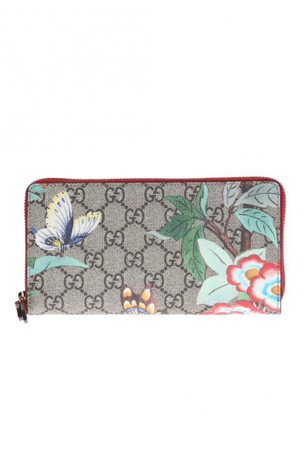 4fdb79cf9c7 GG Supreme  Canvas Wallet Gucci - Vitkac shop online