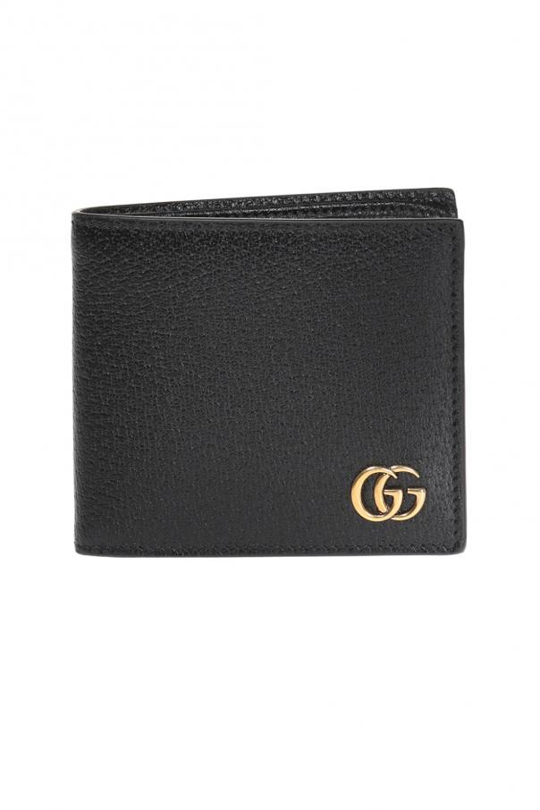 7f7cbc135b4cb Skórzany składany portfel Gucci - sklep internetowy Vitkac
