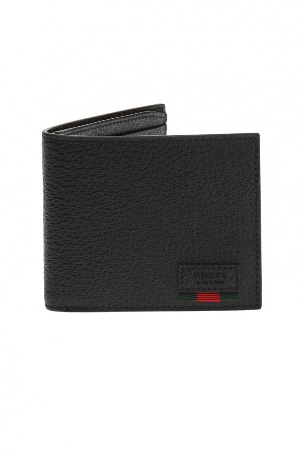 9e280e6b0b09ab Web' striped wallet with logo Gucci - Vitkac shop online