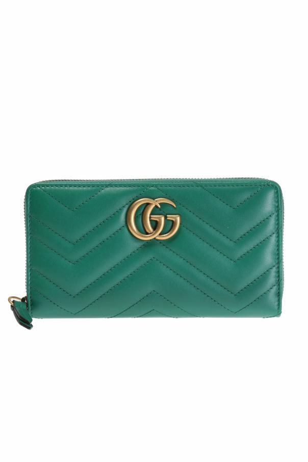 82007d0576cc GG Marmont' wallet Gucci - Vitkac shop online