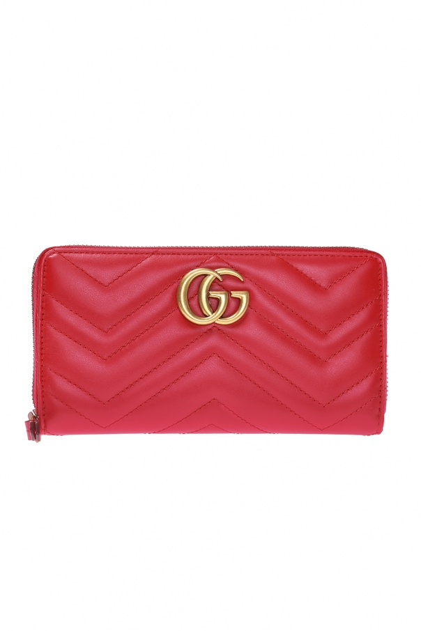 1c4523b9023cf8 GG Marmont' quilted wallet Gucci - Vitkac shop online