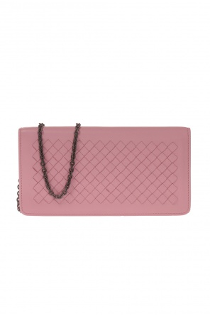 Leather wallet on chain od Bottega Veneta