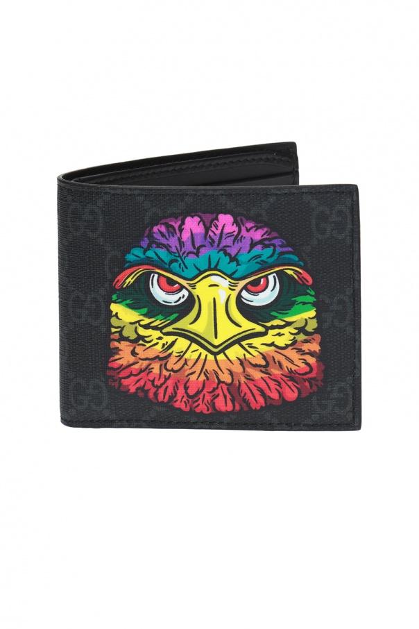 b6f223ac5a4c8 Składany portfel z kolorowym wzorem Gucci - sklep internetowy Vitkac