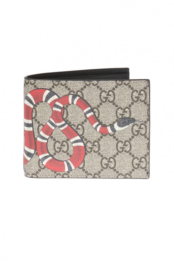 449b1cb8a64e GG Supreme' canvas wallet Gucci - Vitkac shop online