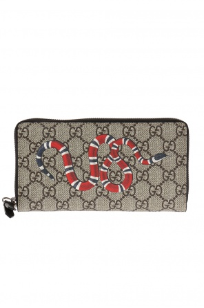 Printed wallet od Gucci