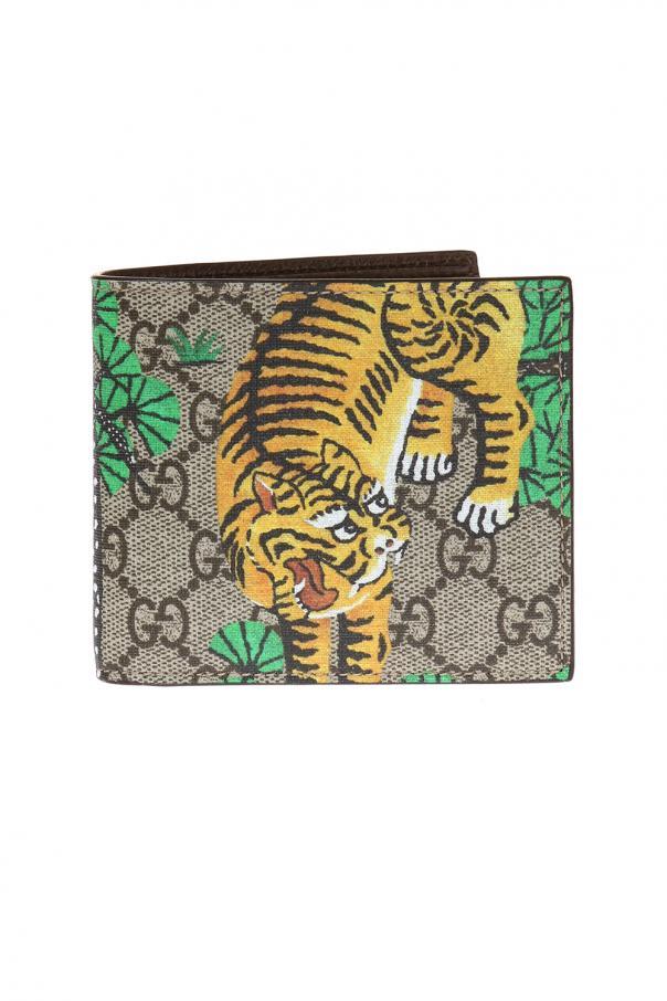 9bfbf81d92fd GG Supreme' canvas bi-fold wallet Gucci - Vitkac shop online