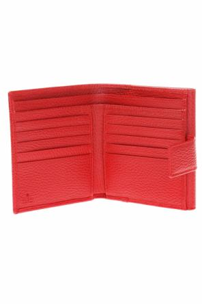 Wallet with metal logo od Gucci