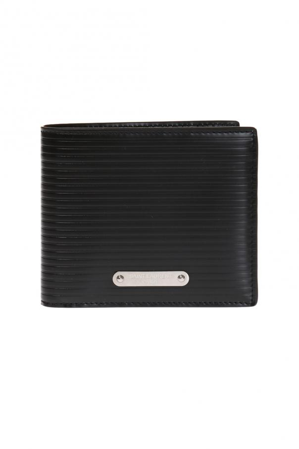 Leather bi-fold wallet od Saint Laurent