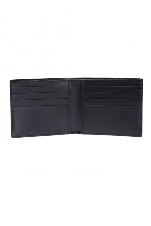 Leather bi-fold wallet od Gucci
