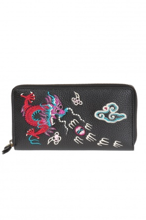 Embroidered wallet od Gucci
