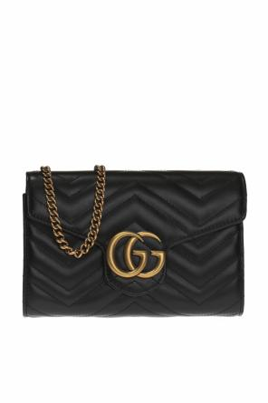 'gg marmont' quilted shoulder bag od Gucci