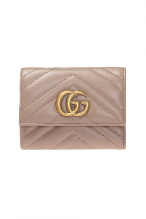 'gg marmont' quilted wallet od Gucci