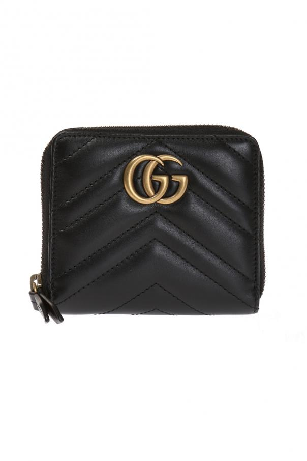 d31a3d359a53e4 GG Marmont' leather wallet Gucci - Vitkac shop online