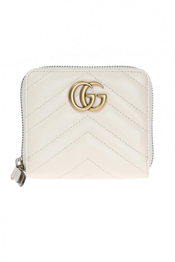 ef5de9493c23d0 Quilted wallet with logo Gucci - Vitkac shop online