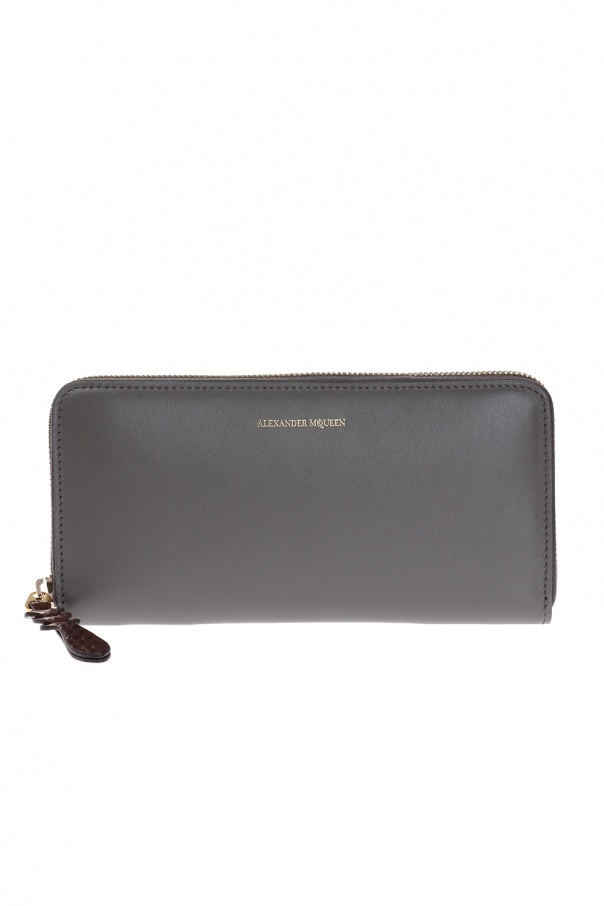 Leather wallet od Alexander McQueen