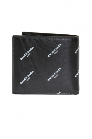 Bi-fold wallet with logo od Balenciaga