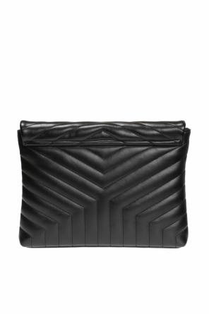 'loulou' quilted clutch od Saint Laurent