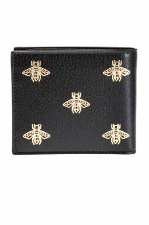 Patterned bi-fold wallet od Gucci
