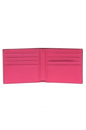 Folded wallet with 'web' stripe od Gucci