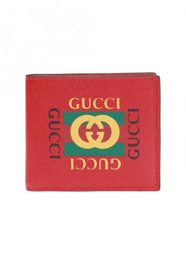 88ac67231a6b Bi-fold wallet with logo Gucci - Vitkac shop online