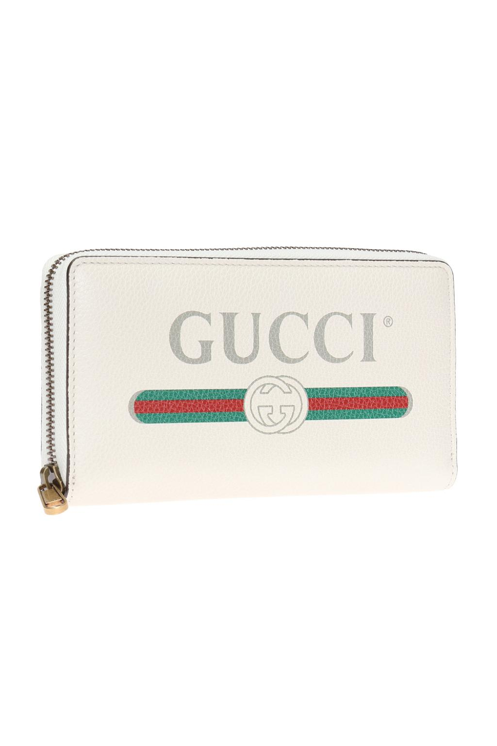 Gucci Logo-printed wallet