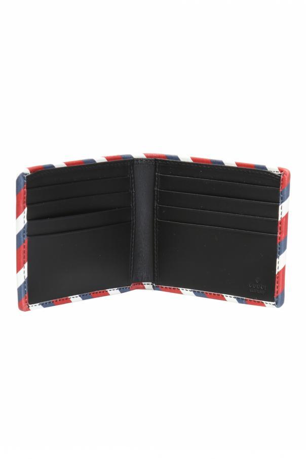aecc8a132b4 GG Supreme  canvas bi-fold wallet Gucci - Vitkac shop online