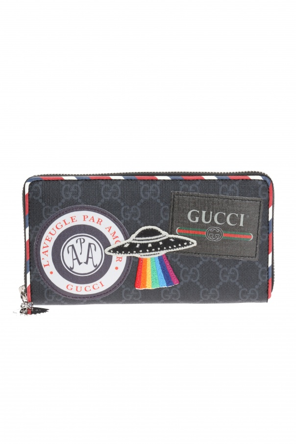Patched wallet od Gucci