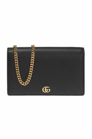 'gg marmont' wallet on chain od Gucci