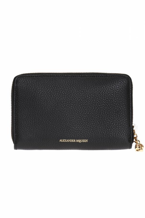 Logo-embossed wallet od Alexander McQueen