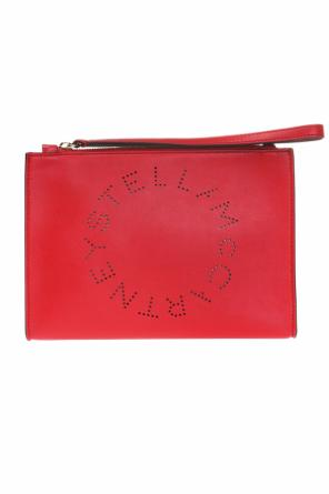 Clutch bag with perforated logo od Stella McCartney