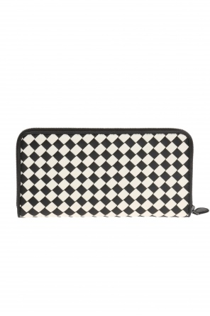 Checked wallet od Bottega Veneta