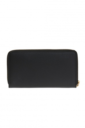 Wallet with a logo od Alexander McQueen