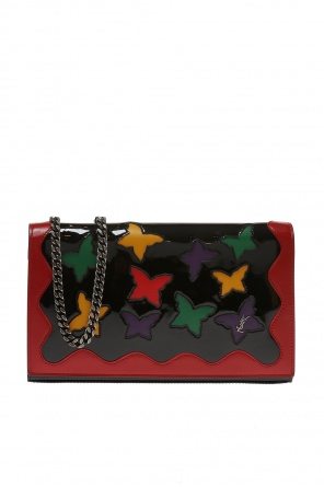 Embellished wallet on chain od Saint Laurent