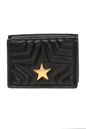'stella star' quilted wallet od Stella McCartney