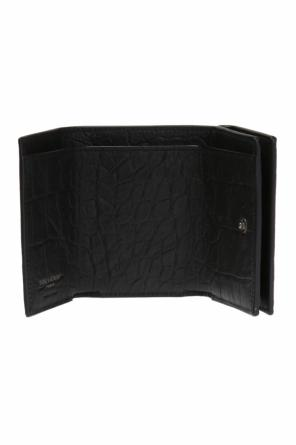 'petite monogram' wallet with logo od Saint Laurent