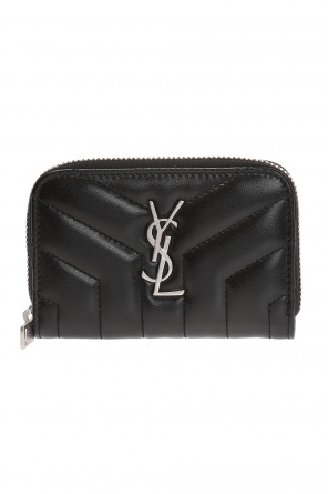 Wallet with a logo od Saint Laurent
