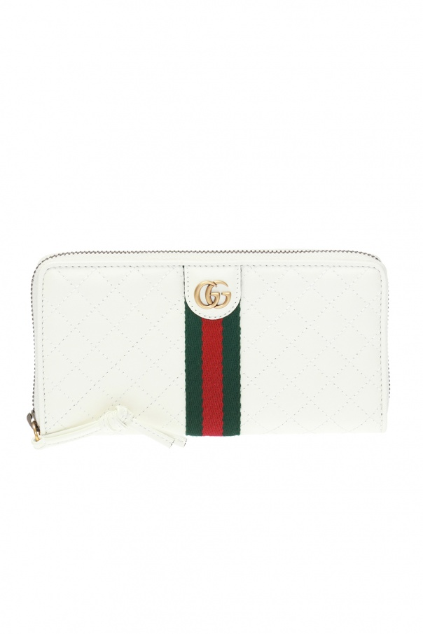 df59fba43c9 GG Marmont  quilted wallet Gucci - Vitkac shop online