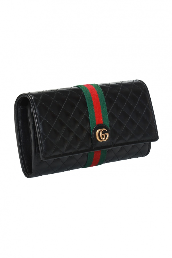 f5b36e2496b GG Marmont  quilted wallet Gucci - Vitkac shop online
