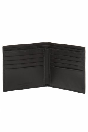 Bifold wallet with a skeleton motif od Alexander McQueen