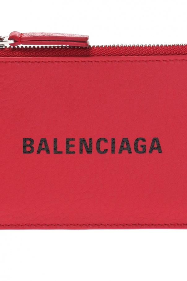 Logo card case od Balenciaga