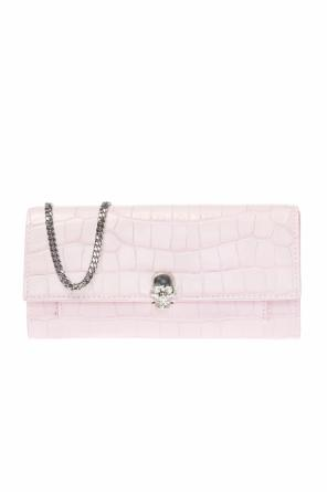 ... Wallet on chain with swarovski crystals od Alexander McQueen 73a95f946d668